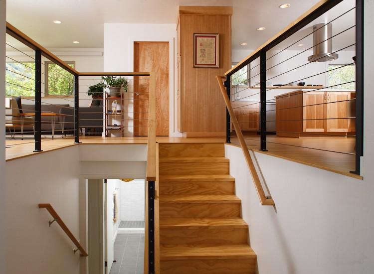 Split Foyer Mudroom : Krikor architecture